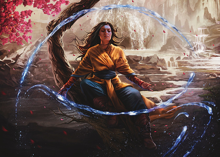 Quiet Contemplation | Art by Magali Villeneuve