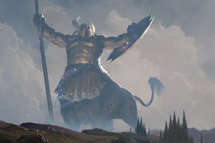 Iroas, God of Victory | Art by Slawomir Maniak