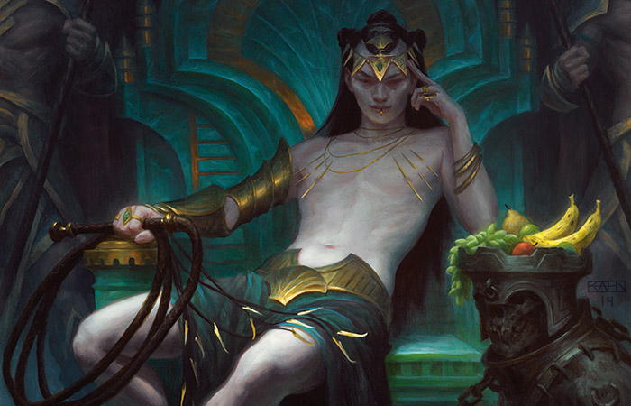 Tasigur, the Golden Fang | Art by Chris Rahn