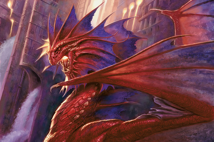 Niv-Mizzet, the Firemind | Art by Todd Lockwood